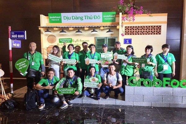 Grab triển khai dịch vụ giao nhận thức ăn tại Hà Nội Ảnh 1