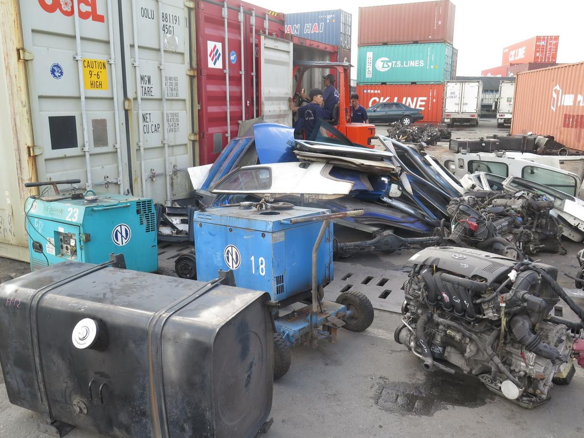 4.900 container vô chủ tồn đọng ở các cảng biển Ảnh 1