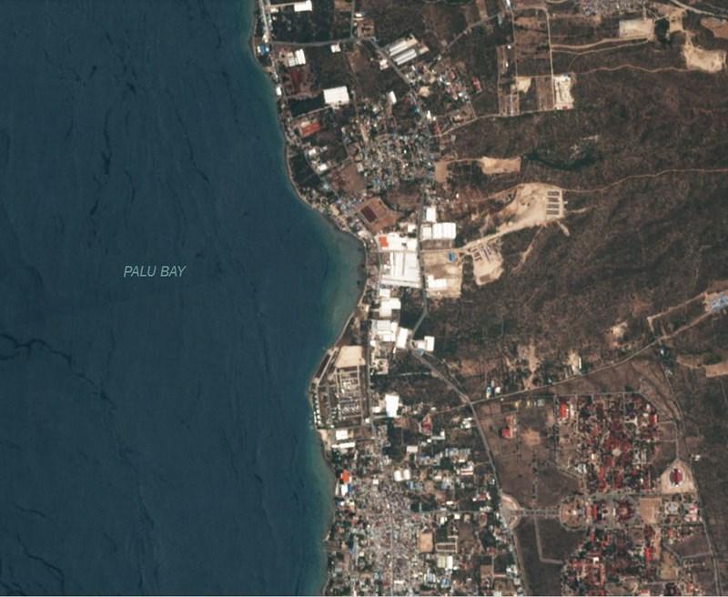 Chùm ảnh vệ tinh chụp Palu trước và sau động đất, sóng thần Ảnh 7