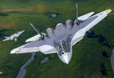 Tiêm kích thế hệ 6 Nga diệt đối phương không cần đạn Ảnh 1