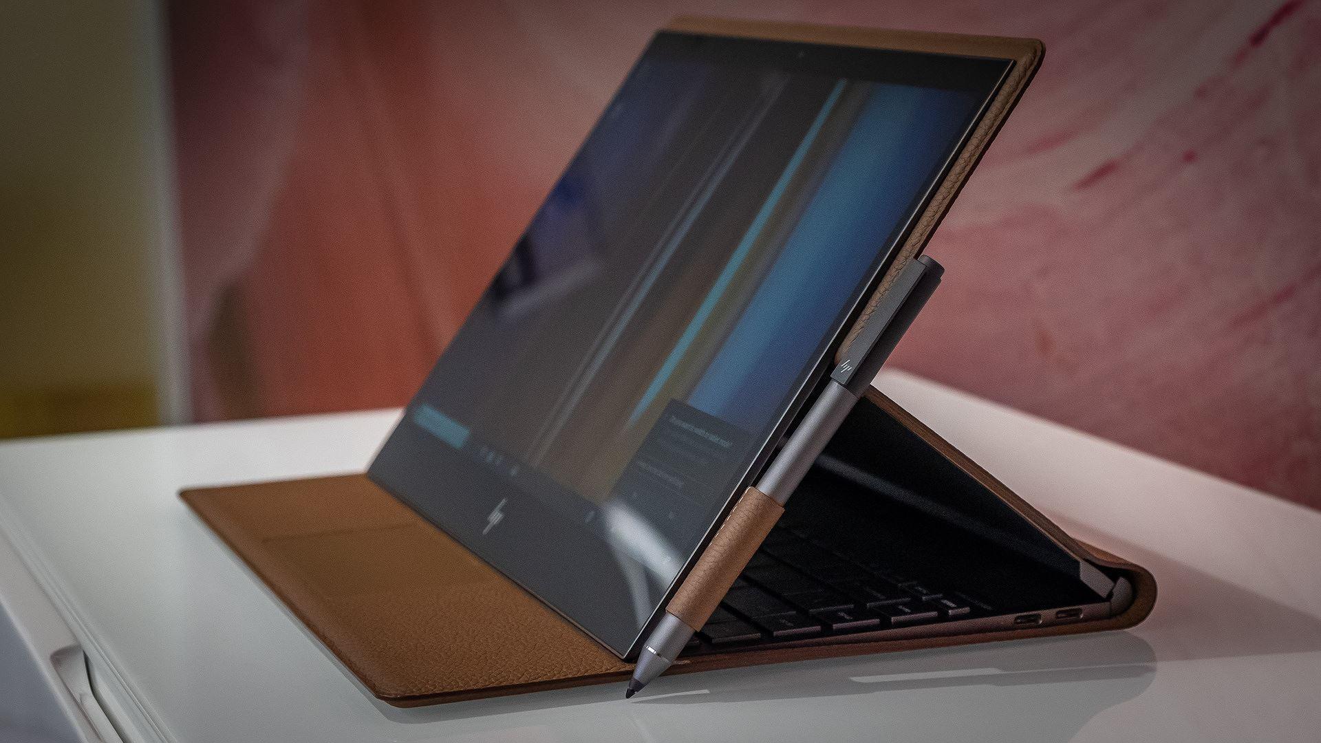 Chán nhôm và nhựa, HP giới thiệu laptop vỏ da đầu tiên trên thế giới Ảnh 9