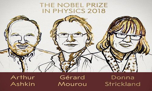 Đã tìm ra chủ nhân của giải Nobel Vật lý 2018 Ảnh 1