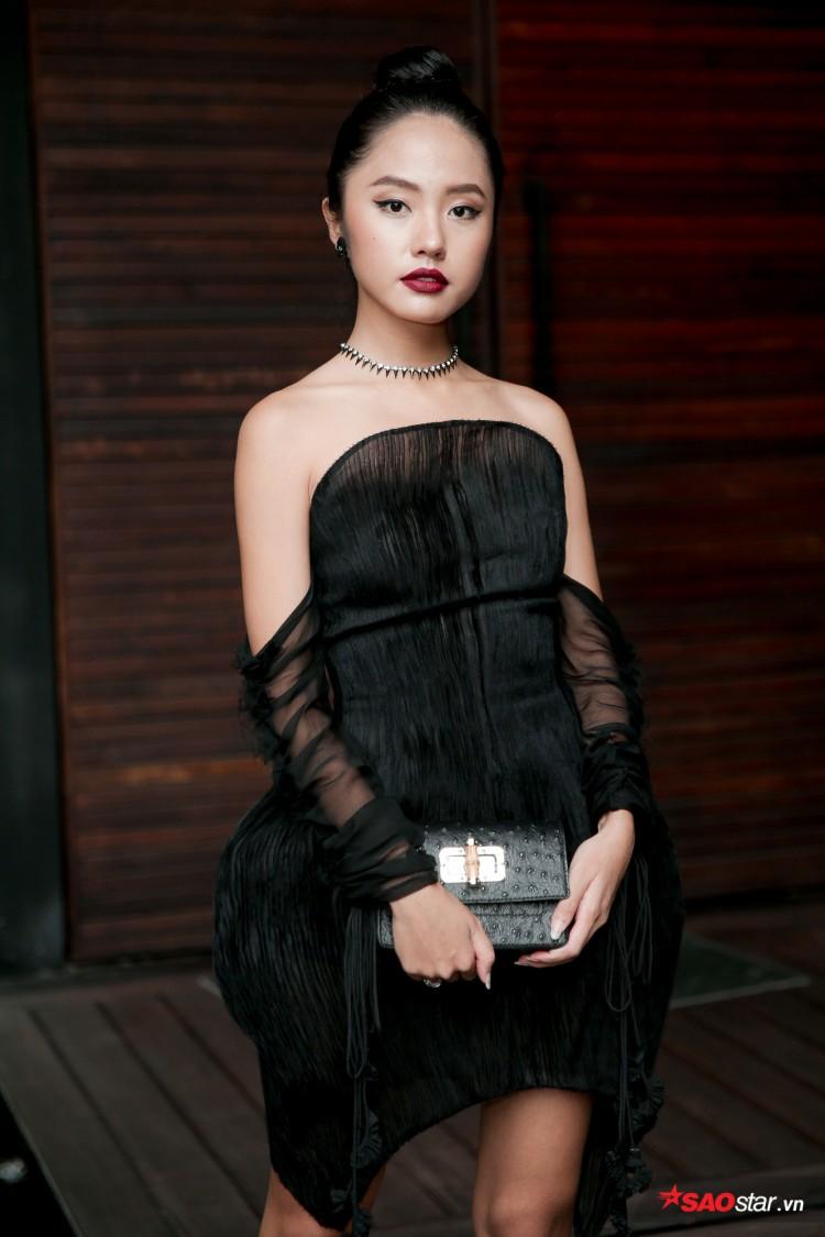 Minh Tú khoe chân thon, vòng một đầy đặn khi công bố mình là đại diện tại Hoa hậu Siêu quốc gia Ảnh 5