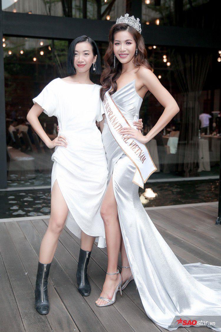 Minh Tú khoe chân thon, vòng một đầy đặn khi công bố mình là đại diện tại Hoa hậu Siêu quốc gia Ảnh 3
