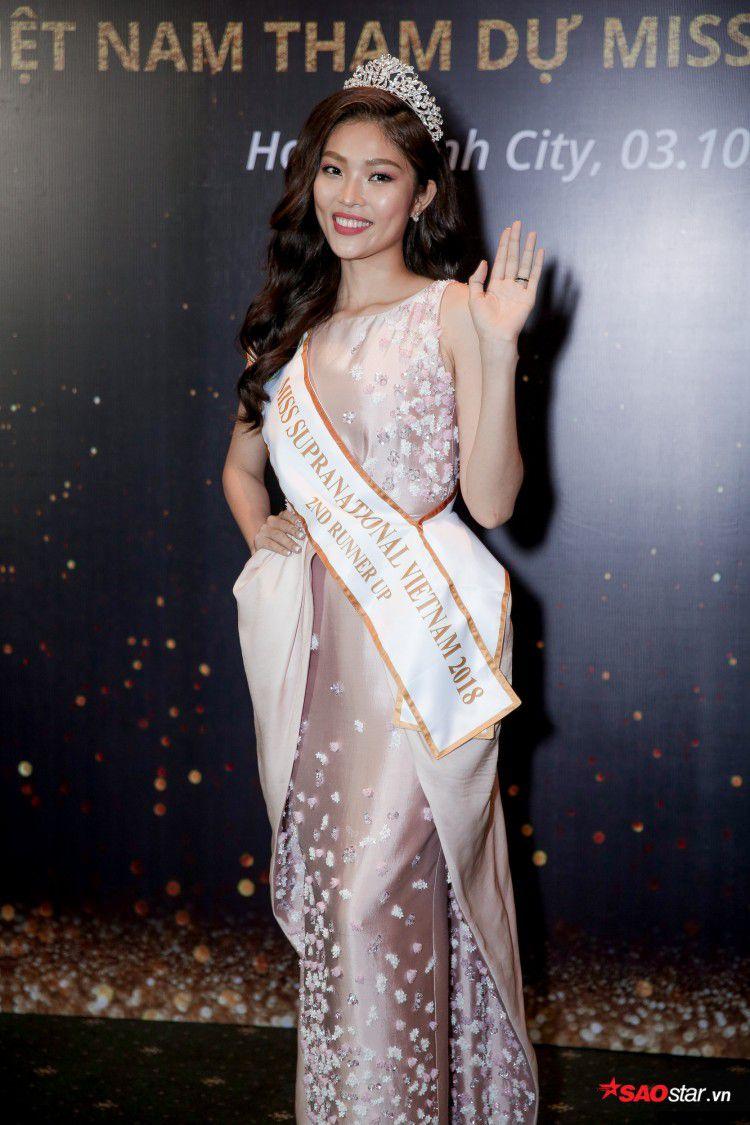 Minh Tú khoe chân thon, vòng một đầy đặn khi công bố mình là đại diện tại Hoa hậu Siêu quốc gia Ảnh 10