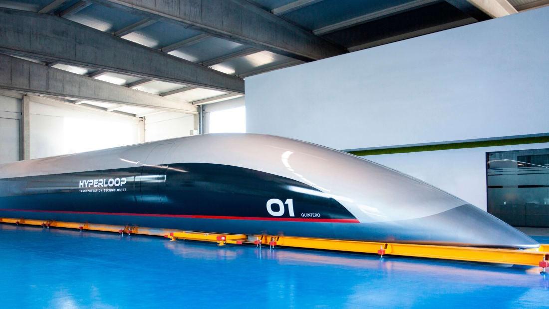 Ra mắt tàu siêu tốc Hyperloop chở khách tốc độ 1.000 km/h Ảnh 1