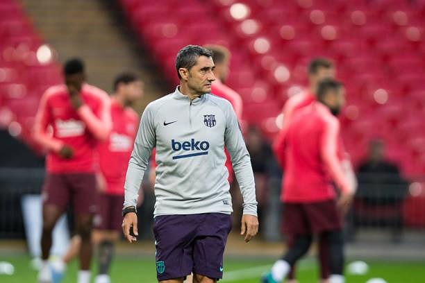 Messi-Suarez 'cặp kè' trên sân tập, sẵn sàng phá lưới Tottenham Ảnh 1