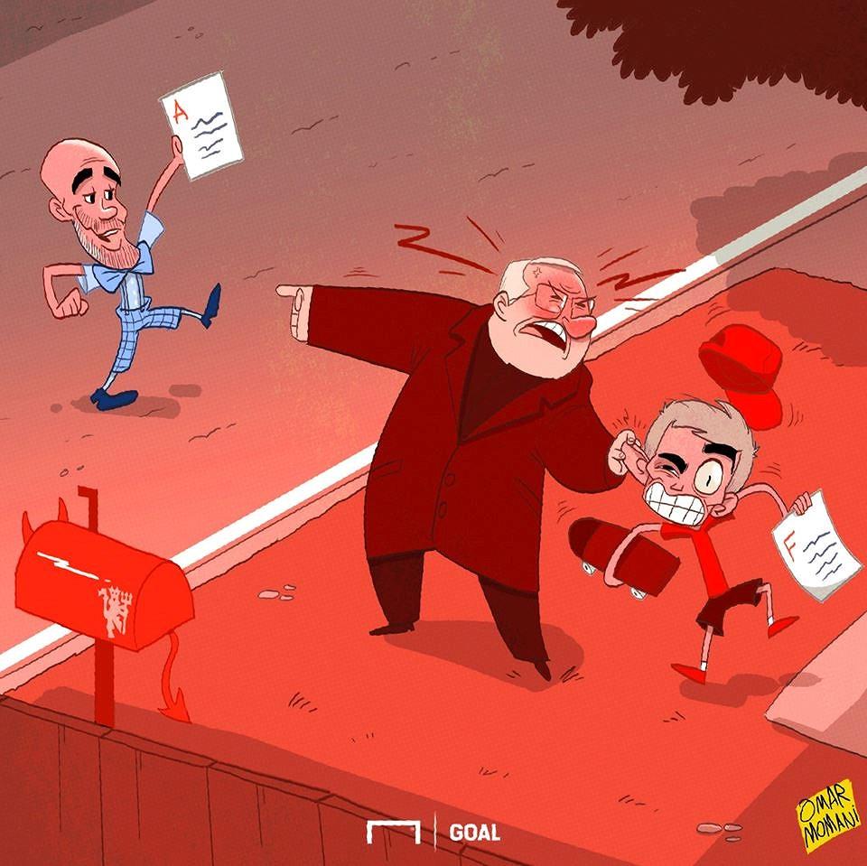 Nguồn cảm hứng 'ảnh chế' từ cuộc khủng hoảng của Mourinho và MU Ảnh 3