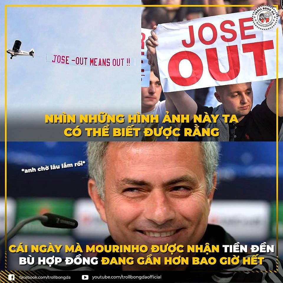 Nguồn cảm hứng 'ảnh chế' từ cuộc khủng hoảng của Mourinho và MU Ảnh 6