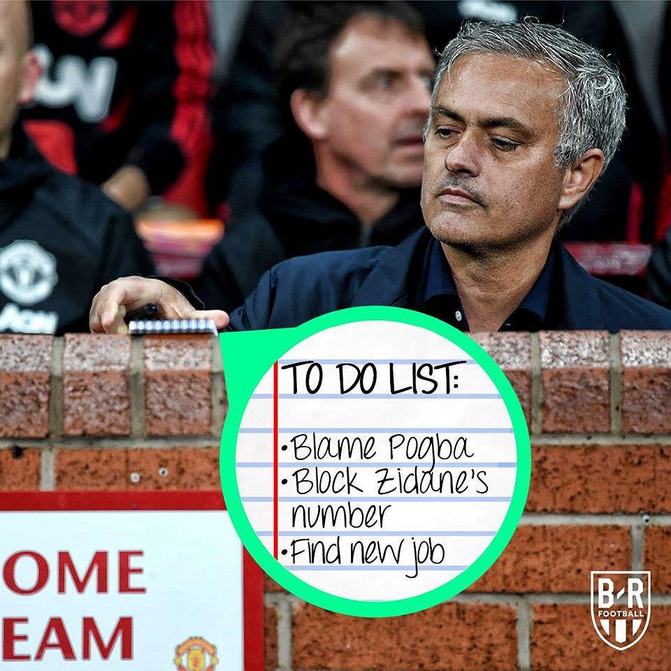 Nguồn cảm hứng 'ảnh chế' từ cuộc khủng hoảng của Mourinho và MU Ảnh 4