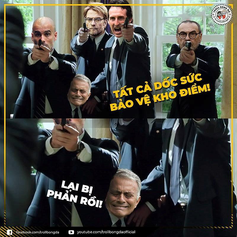 Nguồn cảm hứng 'ảnh chế' từ cuộc khủng hoảng của Mourinho và MU Ảnh 7