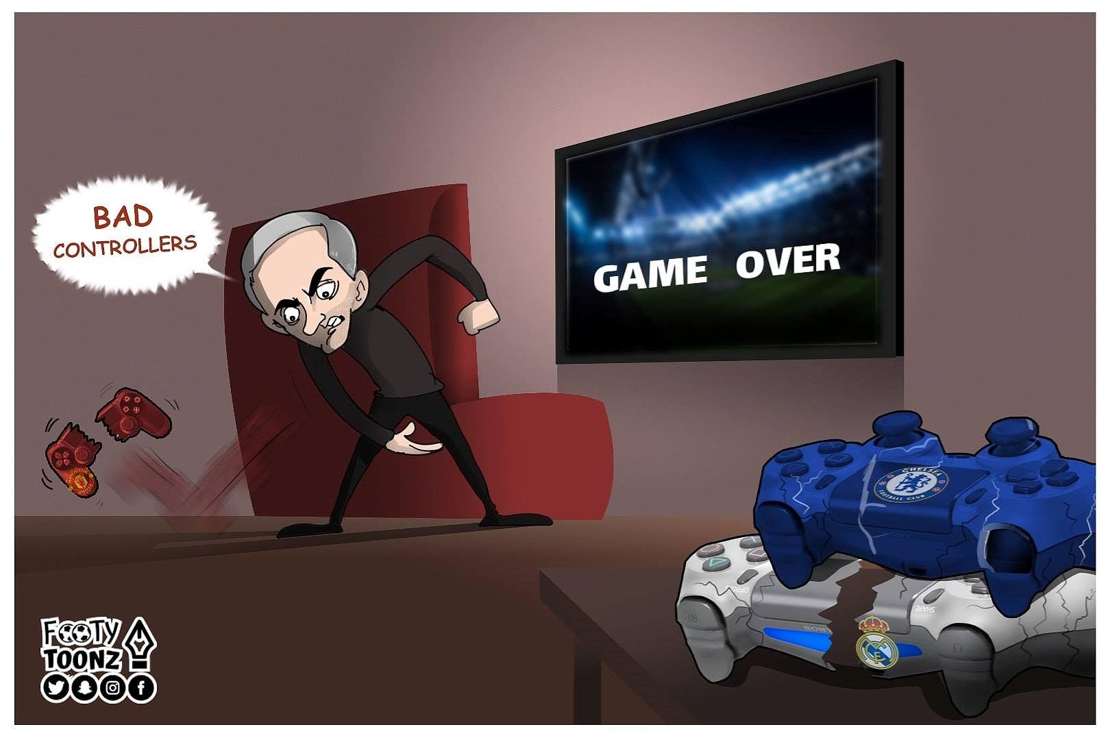 Nguồn cảm hứng 'ảnh chế' từ cuộc khủng hoảng của Mourinho và MU Ảnh 1