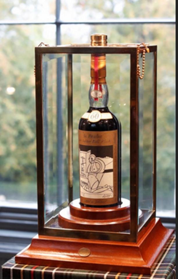 Người châu Á bí ẩn trả 1,1 triệu USD để mua 'Rolls Royce của whisky' Ảnh 1