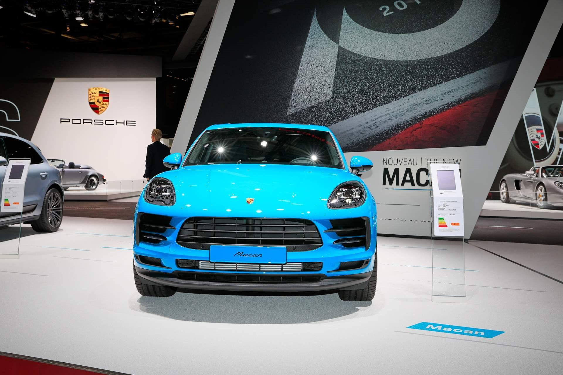 Porsche Macan ra mắt châu Âu với động cơ 242 mã lực Ảnh 3