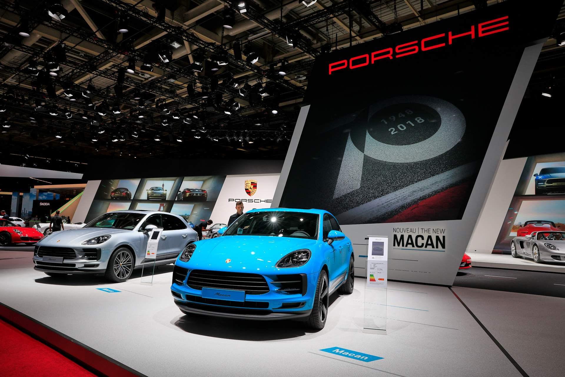Porsche Macan ra mắt châu Âu với động cơ 242 mã lực Ảnh 5