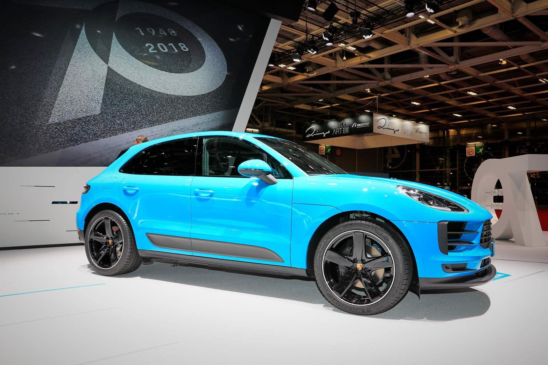 Porsche Macan ra mắt châu Âu với động cơ 242 mã lực Ảnh 1