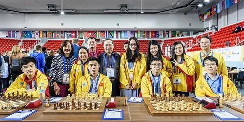 Kỳ thủ Trường Sơn xuất sắc đoạt HCV cá nhân Olympiad Ảnh 2