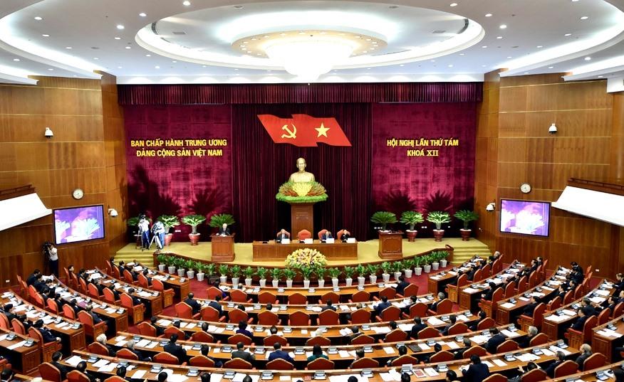 Thông cáo về ngày làm việc thứ 4 của Hội nghị Trung ương 8 khóa XII Ảnh 1