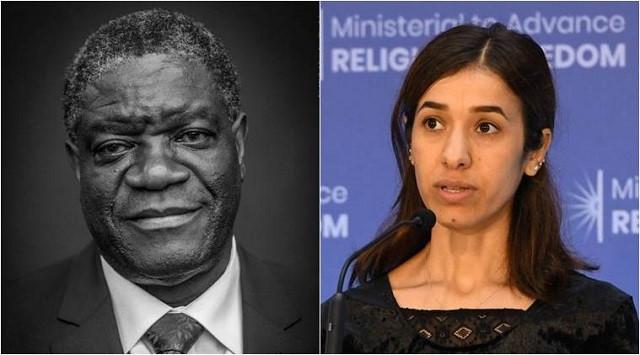 Giải Nobel Hòa bình 2018 đã có chủ Ảnh 1