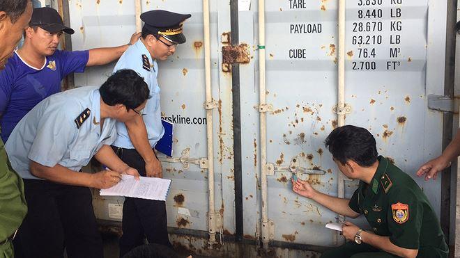 8 tấn ngà voi, vảy tê khai báo là phế liệu nhập về Đà Nẵng Ảnh 5