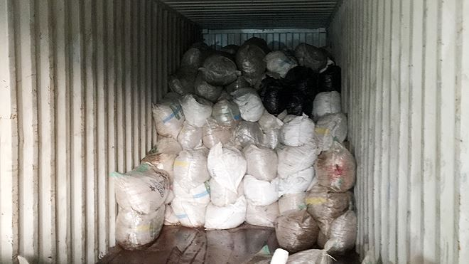 8 tấn ngà voi, vảy tê khai báo là phế liệu nhập về Đà Nẵng Ảnh 4