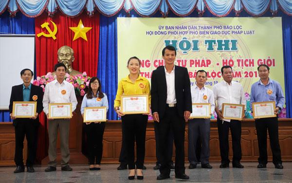 Lâm Đồng: Tổ chức hội thi Công chức Tư pháp - Hộ tịch Ảnh 1