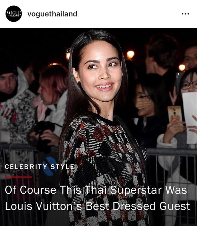 Yaya Urassaya được Vogue bình chọn là sao mặc đẹp nhất tại Louis Vuitton show Ảnh 8