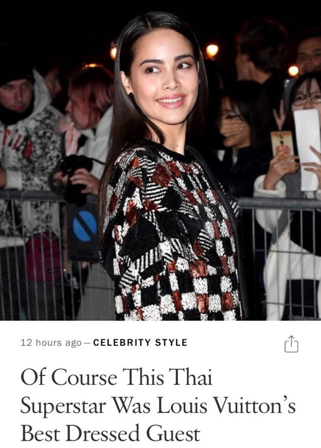 Yaya Urassaya được Vogue bình chọn là sao mặc đẹp nhất tại Louis Vuitton show Ảnh 9