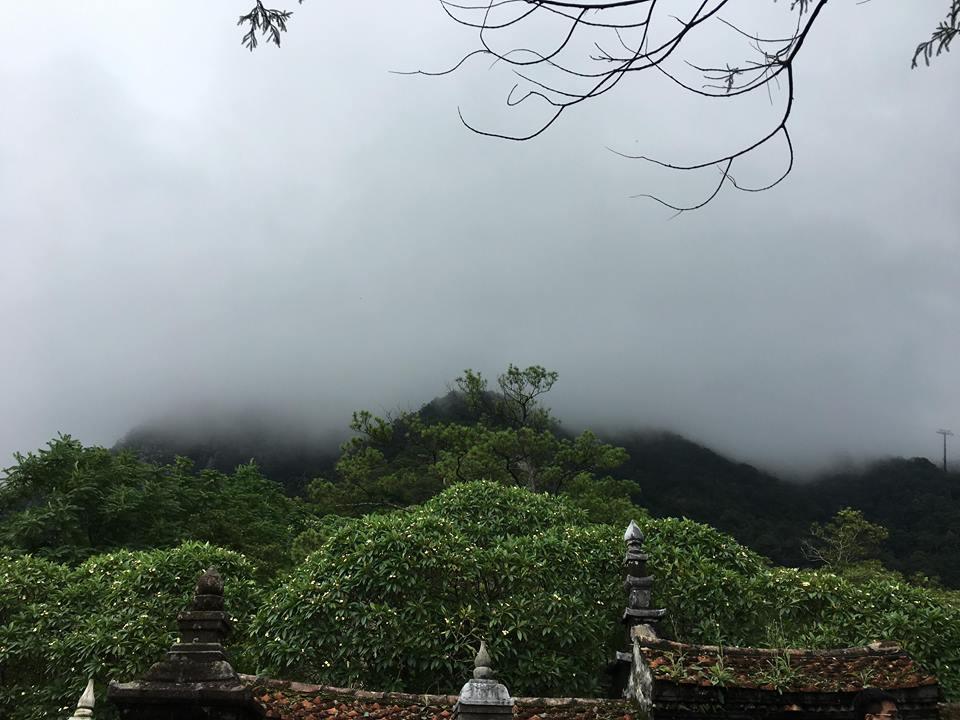 Quảng Ninh: Chùa Đồng lấp lóa trong chiều thu Ảnh 3