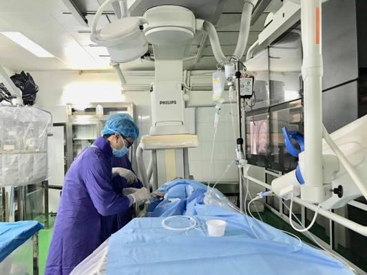Cấp cứu thành công sản phụ bị chảy máu sau sinh bằng phương pháp can thiệp nội mạch Ảnh 1