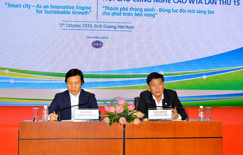 Hội nghị WTA mở ra nhiều cơ hội hợp tác cho tỉnh Bình Dương Ảnh 1