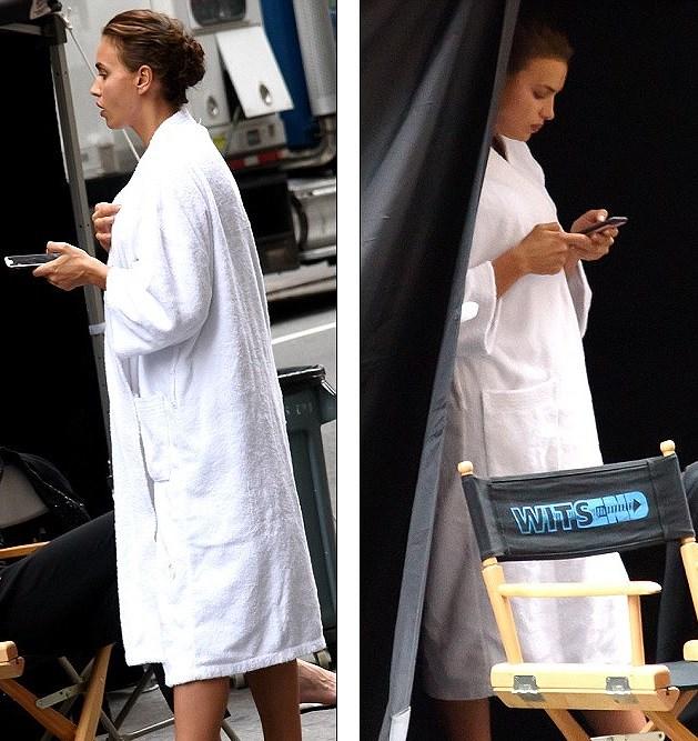 'Chân dài' Irina Shayk tất bật chuẩn bị cho buổi chụp hình ở New York Ảnh 6