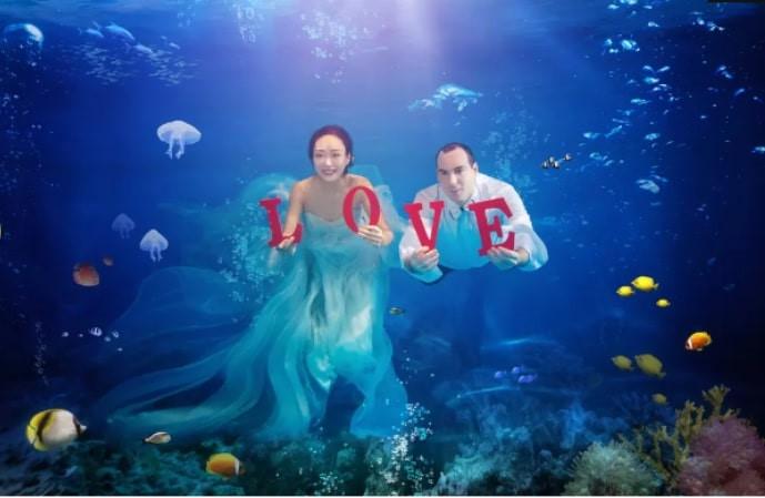 Mốt chụp ảnh cưới xa hoa và giấc mơ của các cặp đôi Trung Quốc Ảnh 6