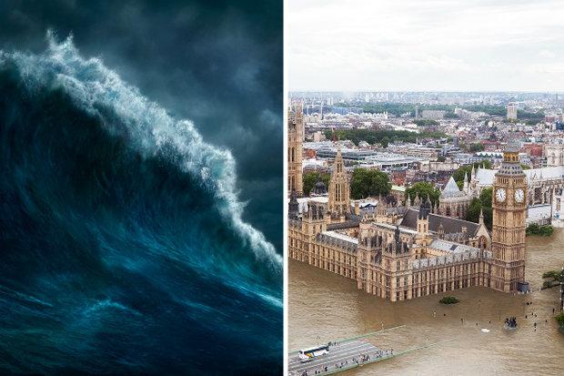 London, Bangkok có thể bị ngập chìm trong nước biển Ảnh 1