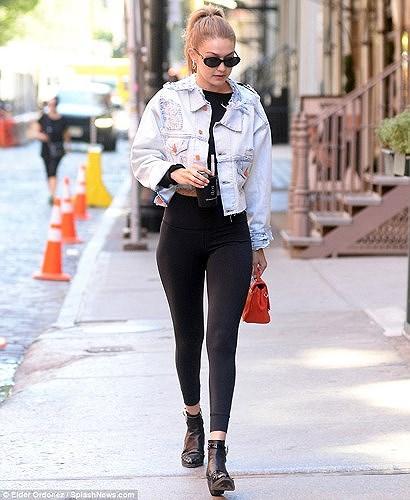 Nàng mẫu Gigi Hadid cuốn hút với gu thời trang kín đáo thời thượng Ảnh 5