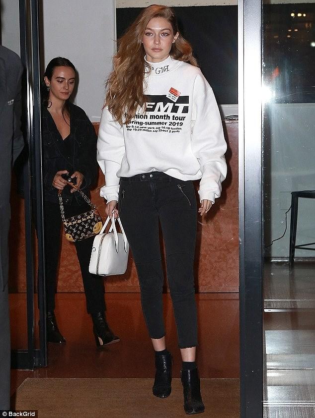 Nàng mẫu Gigi Hadid cuốn hút với gu thời trang kín đáo thời thượng Ảnh 2