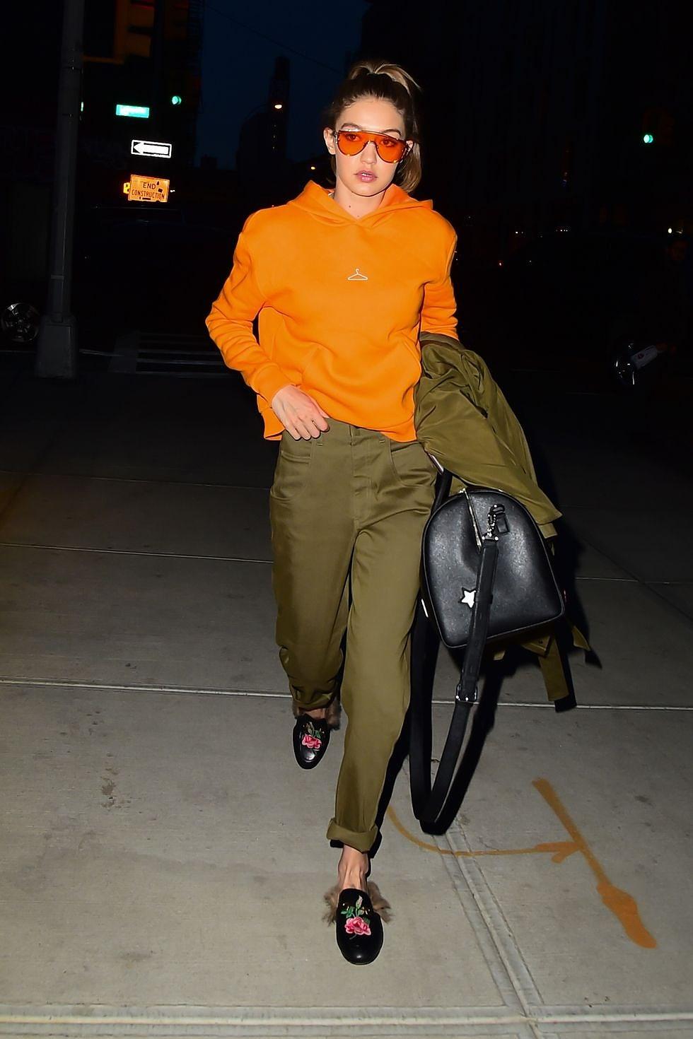 Nàng mẫu Gigi Hadid cuốn hút với gu thời trang kín đáo thời thượng Ảnh 9