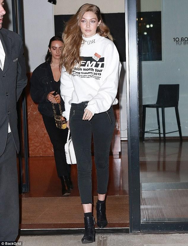 Nàng mẫu Gigi Hadid cuốn hút với gu thời trang kín đáo thời thượng Ảnh 1