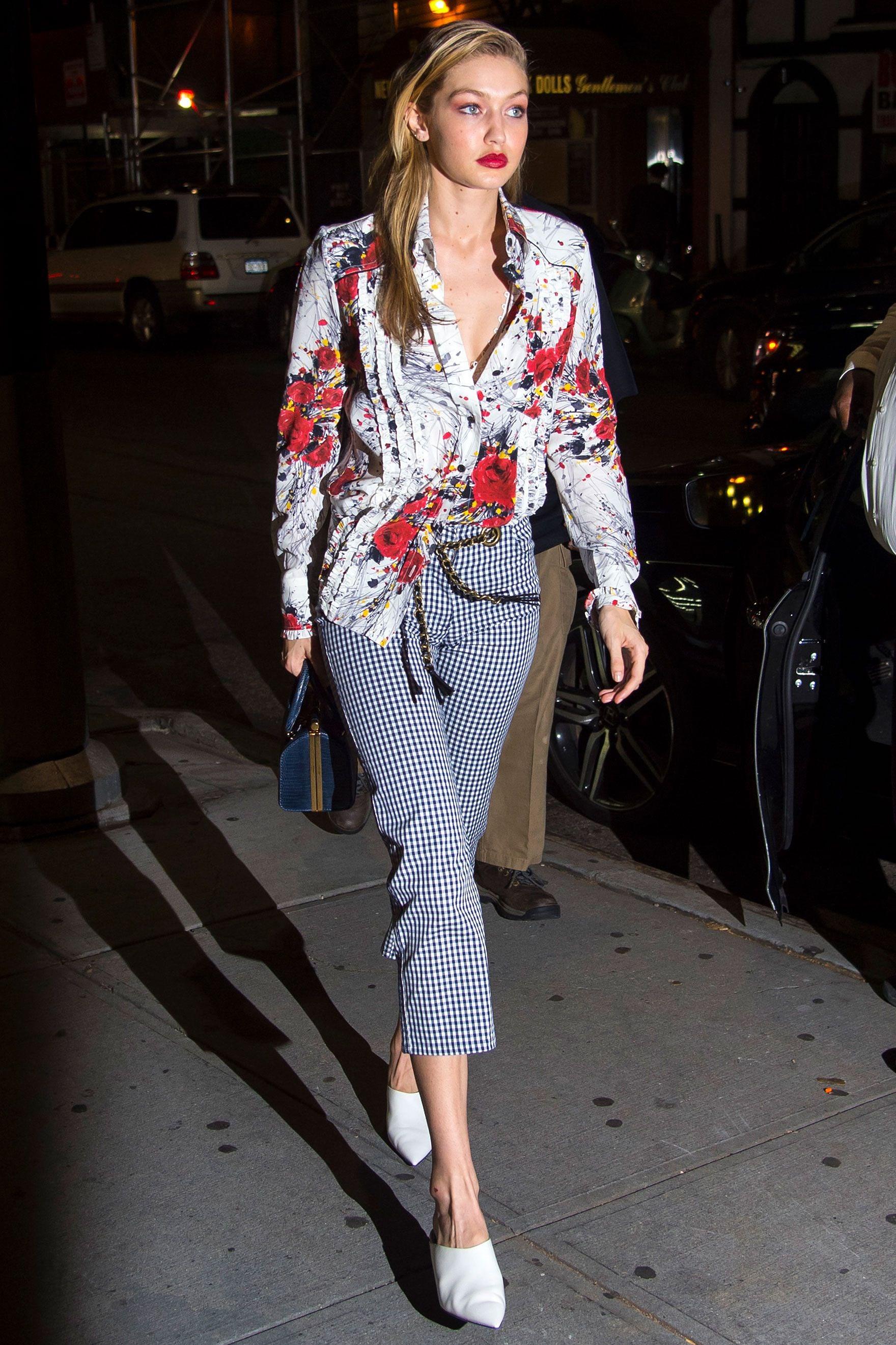 Nàng mẫu Gigi Hadid cuốn hút với gu thời trang kín đáo thời thượng Ảnh 6