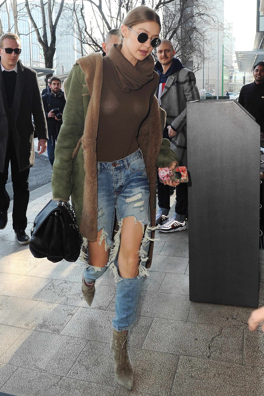 Nàng mẫu Gigi Hadid cuốn hút với gu thời trang kín đáo thời thượng Ảnh 10