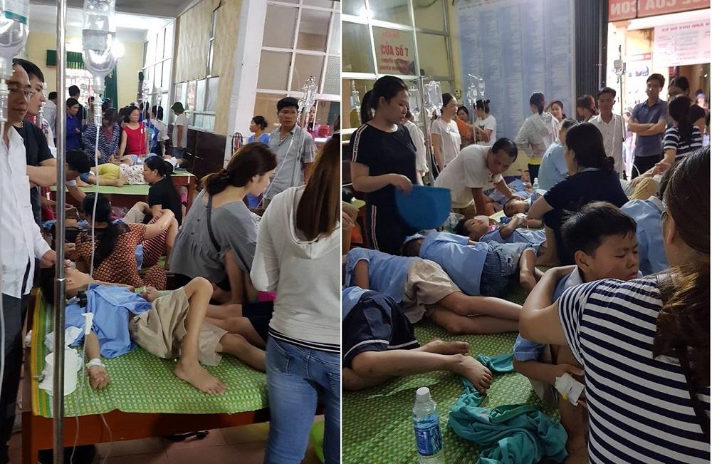 280 học sinh tiểu học ở Ninh Bình nhập viện sau bữa trưa: Thông tin mới nhất từ bệnh viện Ảnh 1