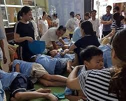 280 học sinh ngộ độc thực phẩm ở Ninh Bình đã hồi phục ảnh 1