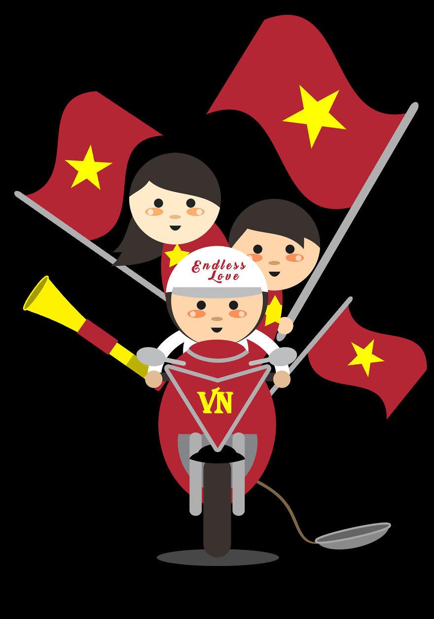 Giao thông Việt Nam, 'ninja Lead' qua lăng kính của họa sĩ Philippines Ảnh 14