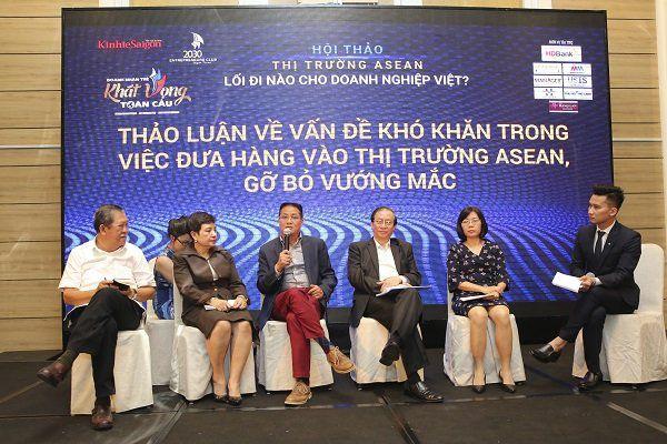 Hàng Việt chậm chân bước vào thị trường ASEAN Ảnh 1
