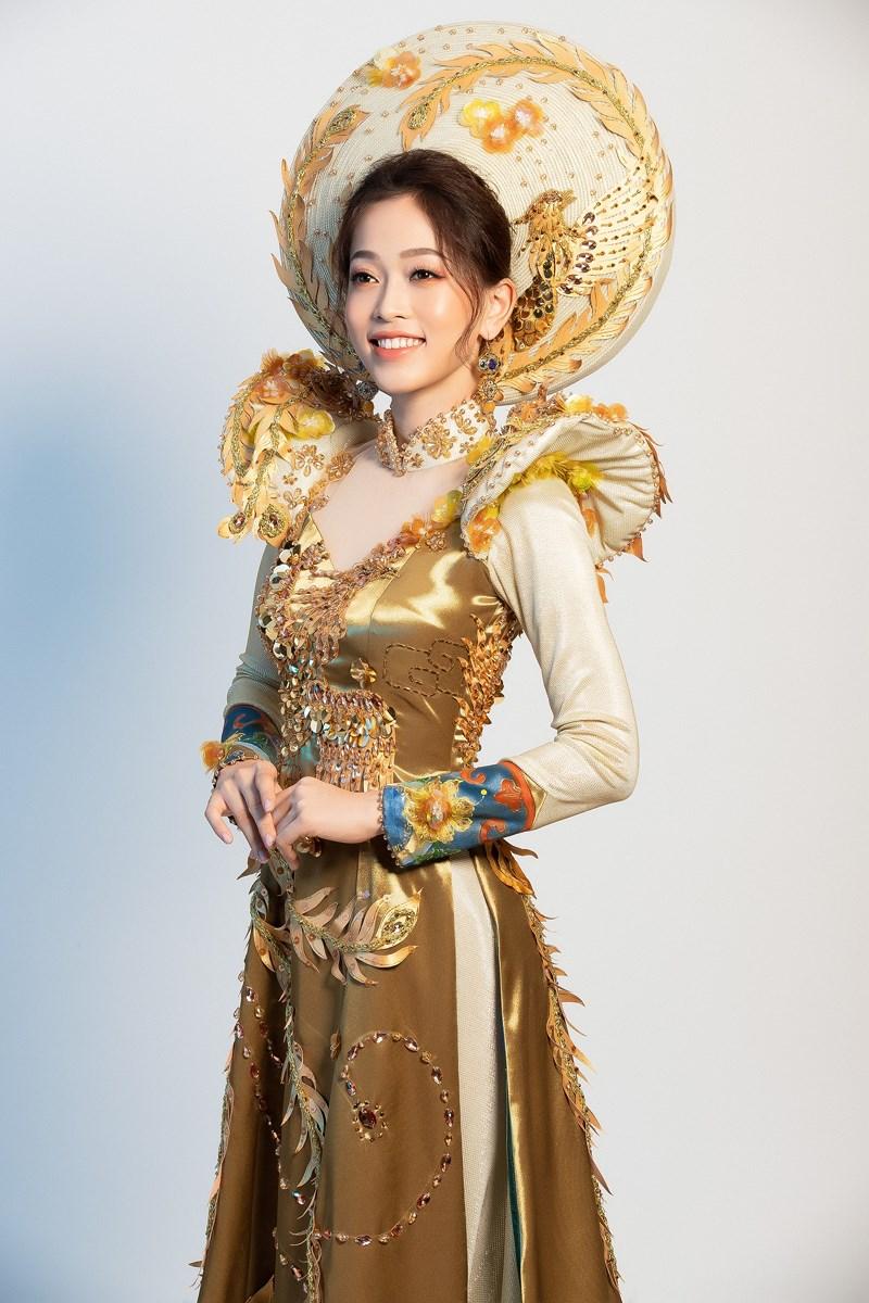 Phương Nga sẽ mặc 'quốc phục Ngũ Phụng Tề Phi' tại Miss Grand Ảnh 4