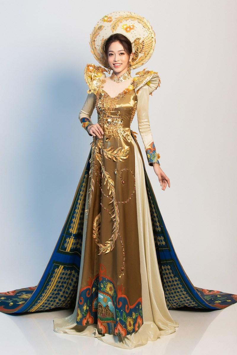 Phương Nga sẽ mặc 'quốc phục Ngũ Phụng Tề Phi' tại Miss Grand Ảnh 3