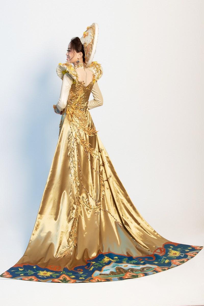 Phương Nga sẽ mặc 'quốc phục Ngũ Phụng Tề Phi' tại Miss Grand Ảnh 5