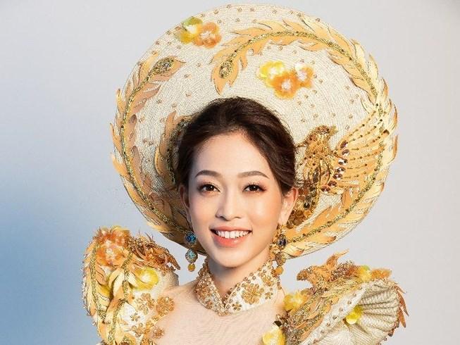 Phương Nga sẽ mặc 'quốc phục Ngũ Phụng Tề Phi' tại Miss Grand Ảnh 1