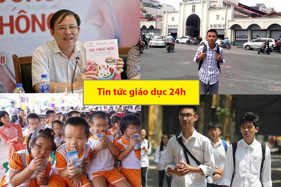 Tin tức giáo dục 24h: Trường mầm non bị 'tố' cho trẻ ăn cơm mốc; Vụ nam sinh Nghệ An bị Trường Sĩ quan Thông tin trả về Ảnh 1