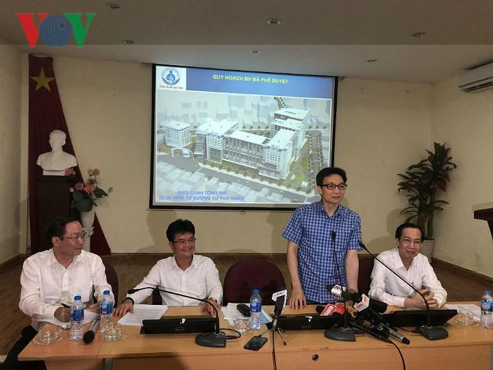 Phó Thủ tướng Vũ Đức Đam làm việc với Bệnh viện Nhi Đồng 1, TP HCM Ảnh 1
